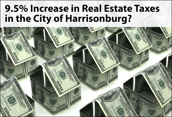 Increase in Harrisonburg Real Estate Tax Rate?