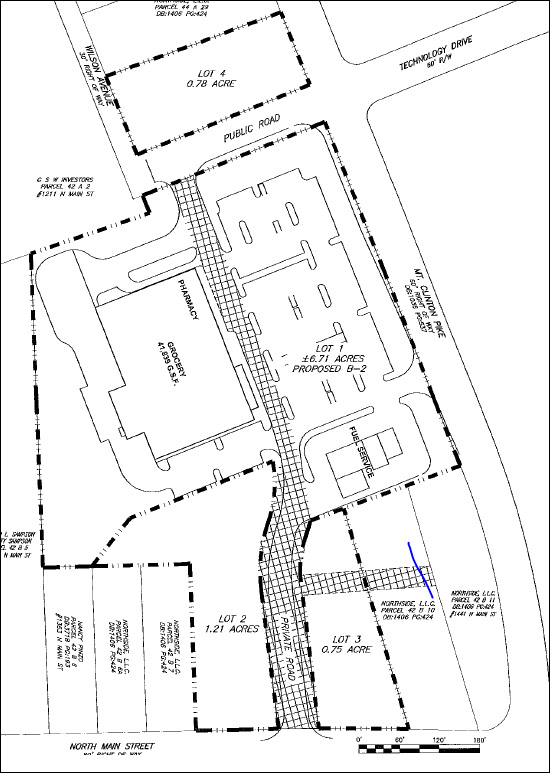 Grocer Store Site Plan
