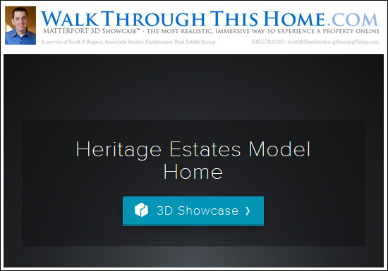 Walk through the Model Home at Heritage Estates