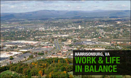 Locating your business in Harrisonburg, Virginia