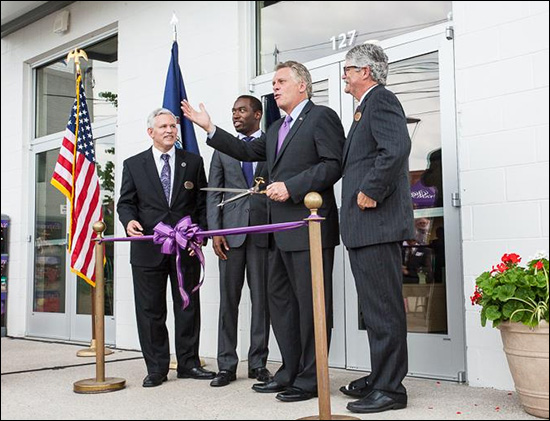Harrisonburg Ice House Ribbon Cutting