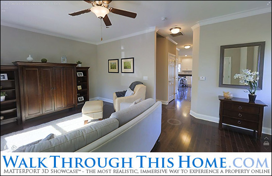 Walk Through The Model Home at The Townes at Bluestone