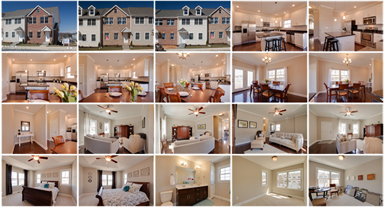 The Townes at Bluestone Model Home