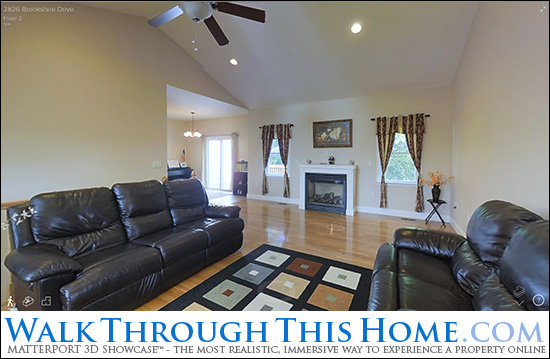 Walk Through This Home, 2826 Brookshire Drive