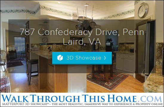 Walk Through This Home, 787 Confederacy Drive, Penn Laird, VA