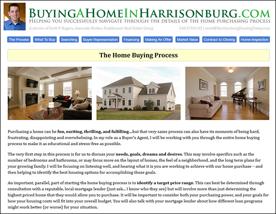 Buying A Home In Harrisonburg