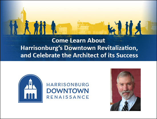 Learn about the revitalization of Downtown Harrisonburg