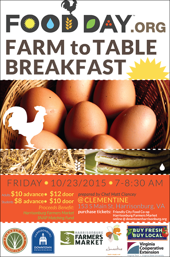 Farm to Table Breakfast