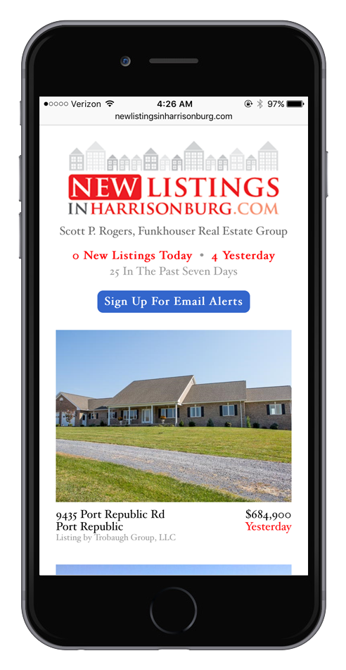 New Listings in Harrisonburg