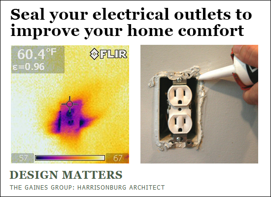 Seal Your Electrical Outlets