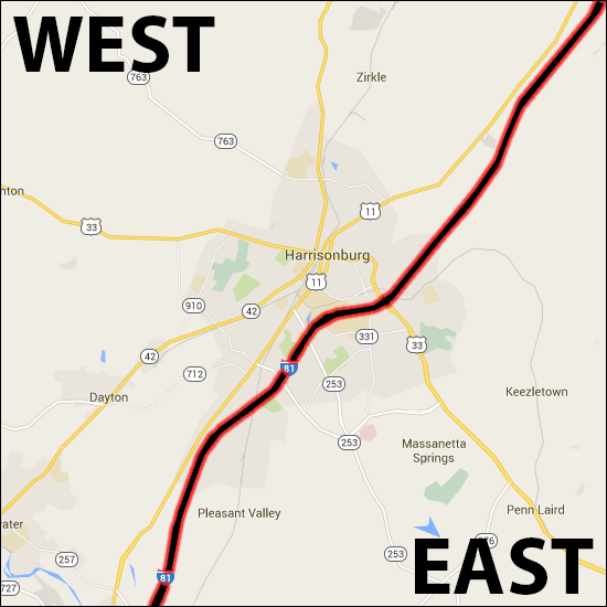 East West Divide