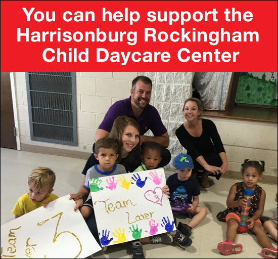 Support the Harrisonburg Rockingham Child Daycare Center