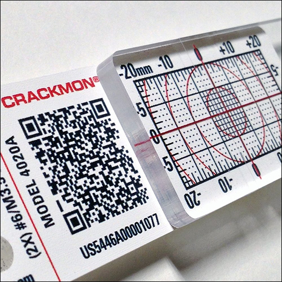 Crack Monitoring Kit