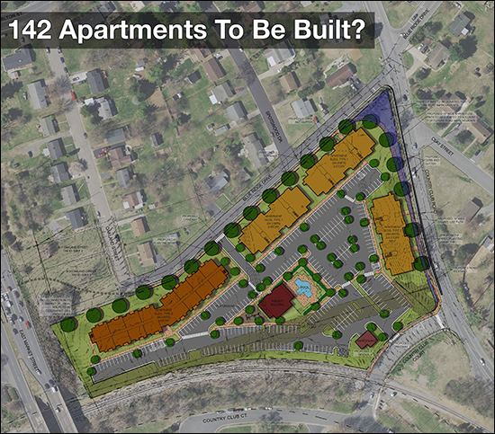 142 Apartments Proposed