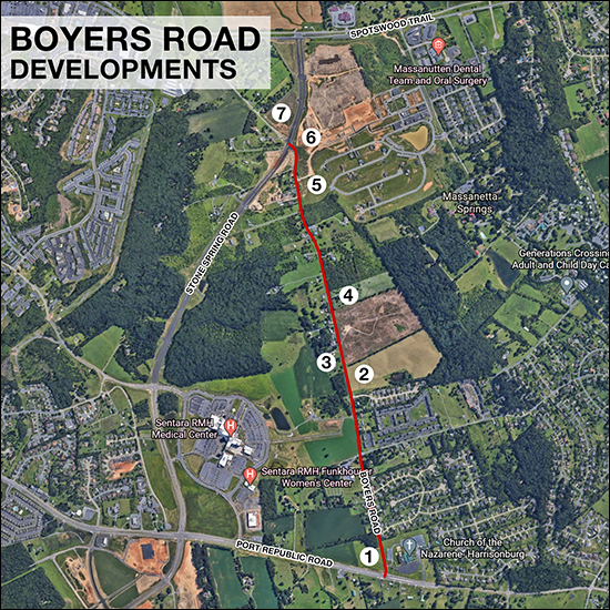 Boyers Road Developments