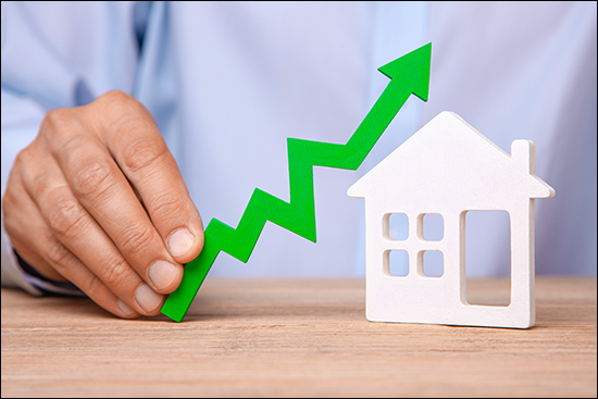 Home Values Rising