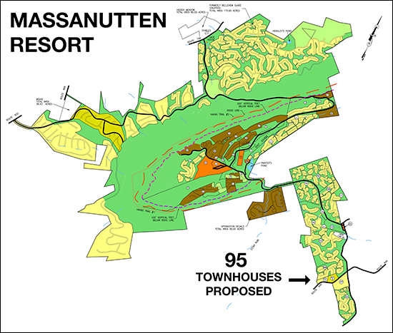 95 Townhouses at Massanutten Resort