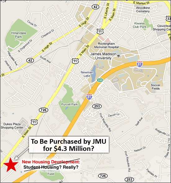 60 Acres to be purchased by JMU