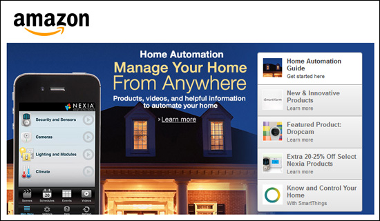 Amazon.com Home Automation Store