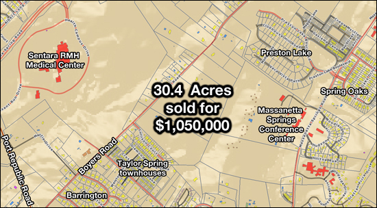 30.4 Acres Sold on Boyers Road