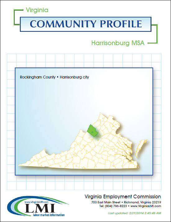 Harrisonburg Rockingham MSA Community Profile