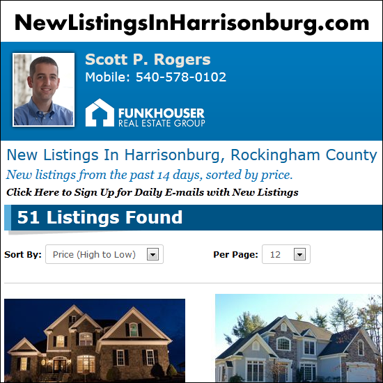 New Listings in Harrisonburg, Rockingham County