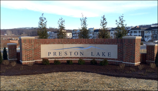 Preston Lake entrance