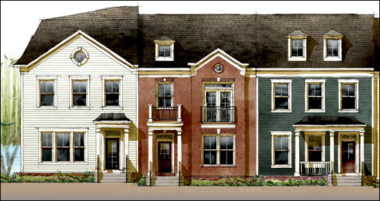 Preston Lake Townhouses