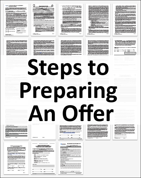 Steps to Preparing an Offer to Purchaes a Home