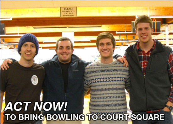 Bring Bowling to Court Square in Downtown Harrisonburg