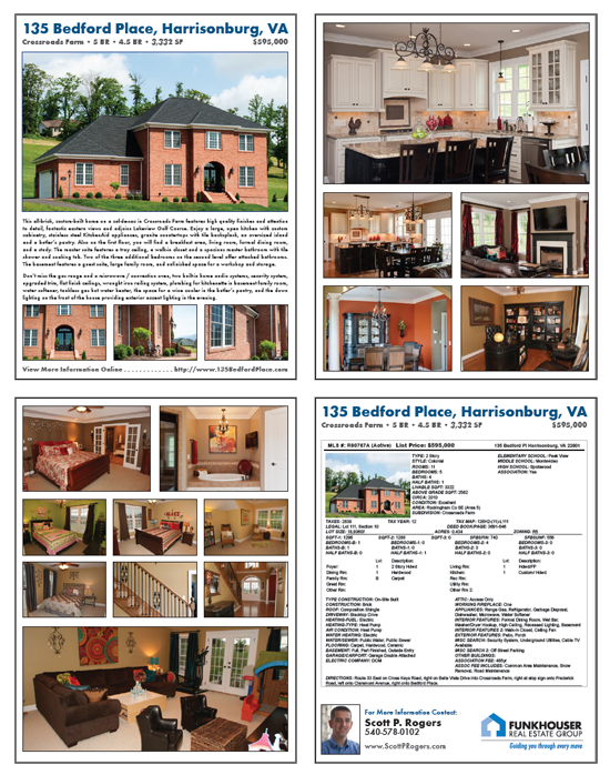 Home For Sale Brochure  Home For Sale Brochure