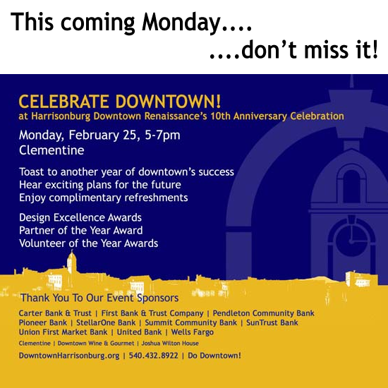 Celebrate Downtown Harrisonburg