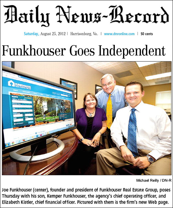 Funkhouser Goes Independent