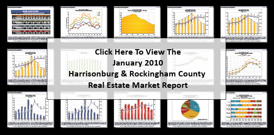 January 2010 Harrisonburg & Rockingham County Real Estate Market Report