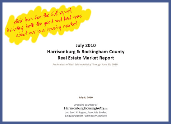 July 2010 Real Estate Market Report