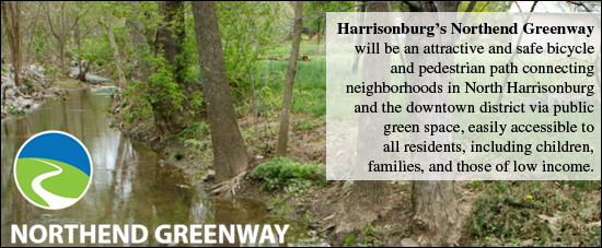 Harrisonburg's North End Greenway