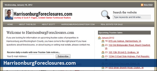 HarrisonburgForeclosures.com