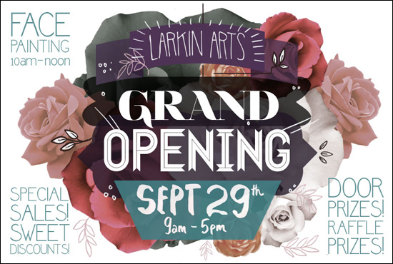 Grand Opening, Larkin Arts