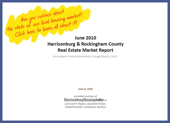 June 2010 Harrisonburg & Rockingham County Real Estate Market Report