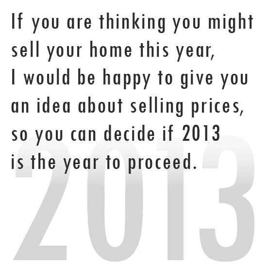 Selling in 2013?