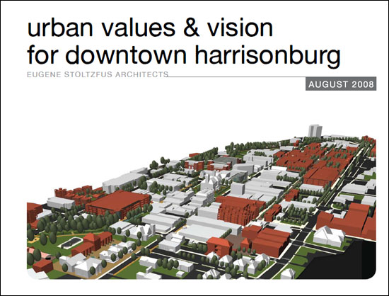 urban values and vision for downtown harrisonburg