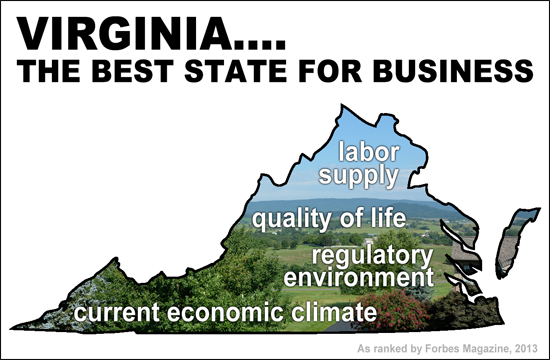 Virginia is the Best State for Business